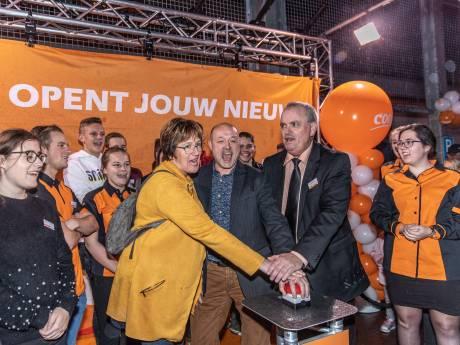 Oranje boven bij nieuwe Coop-supermarkt in 's-Gravenpolder