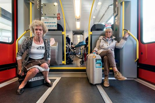 Greetje van Amstel strijdt al jarenlang voor toiletten in de regionale boemeltreintjes.