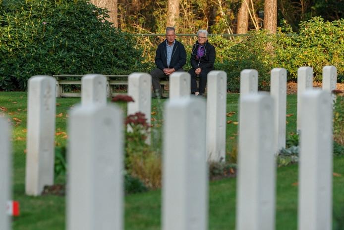 Herdenking canadese begraafplaats