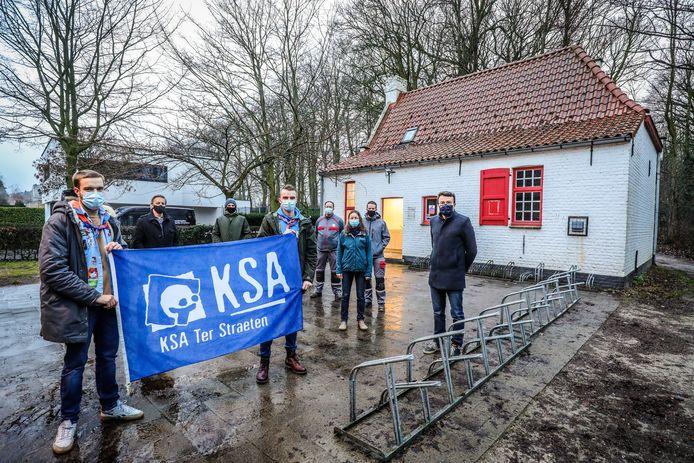 Het oude hoevetje van KSA Ter Straeten in de Fazantenlaan is gerestaureerd.