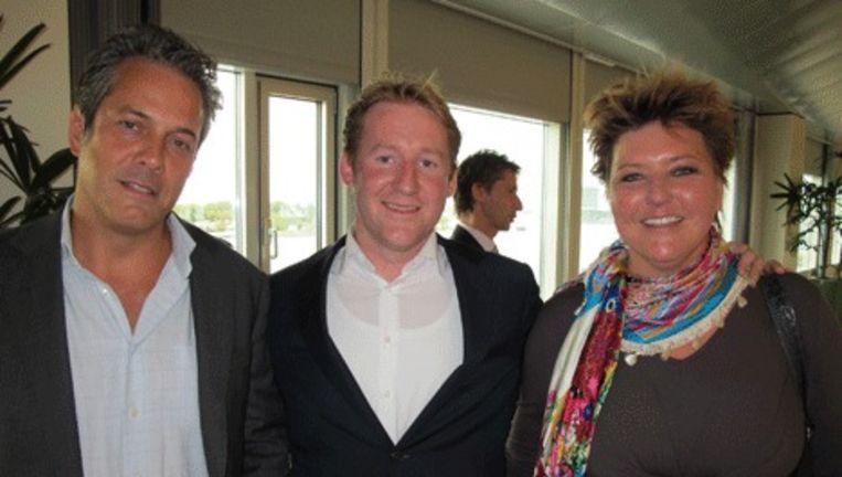 Ingeborg Baltussen (rechts) werd na zeven stemrondes lijsttrekker in West. Foto Lorianne van Gelder Beeld