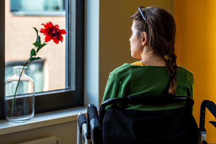 Nathalie Oosterling is ALS-patiënte.
