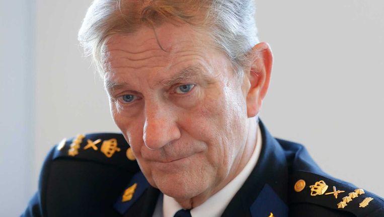 Korpschef Bouman. Beeld ANP