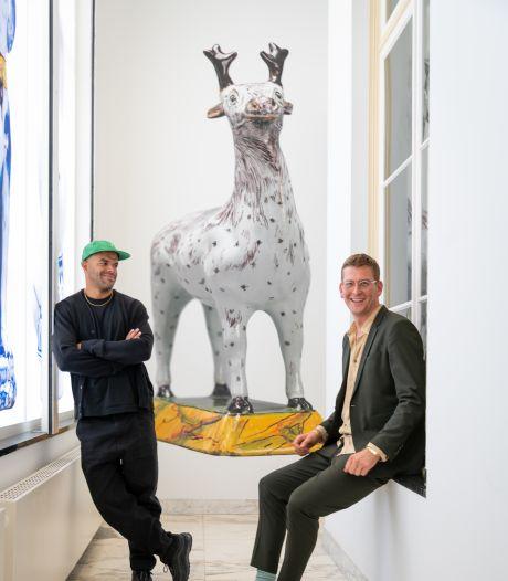 Met de podcast Zin in Kunst door het Kunstmuseum: 'Het depot was wel echt heel vet'