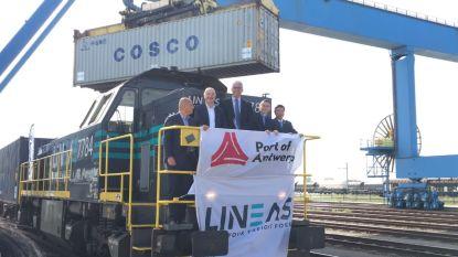 Na 16 dagen en 11.000 kilometer: eerste Zijderoute-trein uit China aangekomen in haven Antwerpen