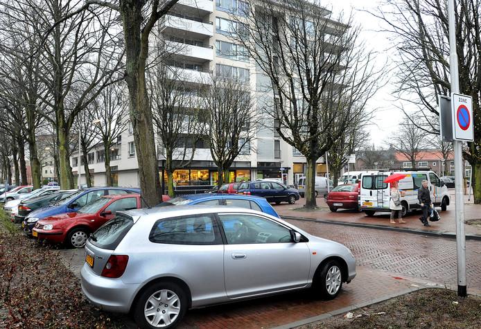 Het parkeren in de Bomenwijk