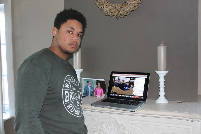 Kevin Hansoul lanceerde een oproep op sociale media om zijn auto terug te vinden.
