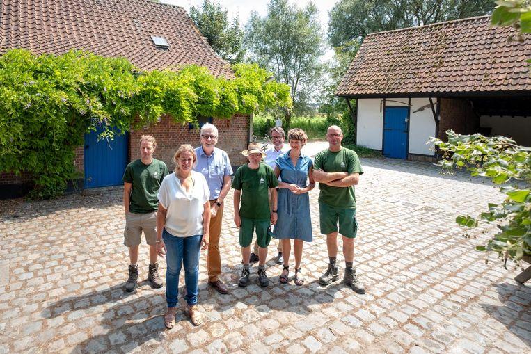 De kinderboerderij moet weer dé trekpleister van provinciaal domein Averegten worden.