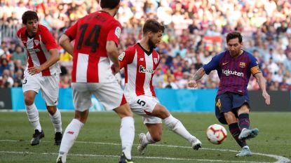 Barcelona laat opnieuw van zijn pluimen: ingevallen Messi sleept met assist slechts puntje uit de brand