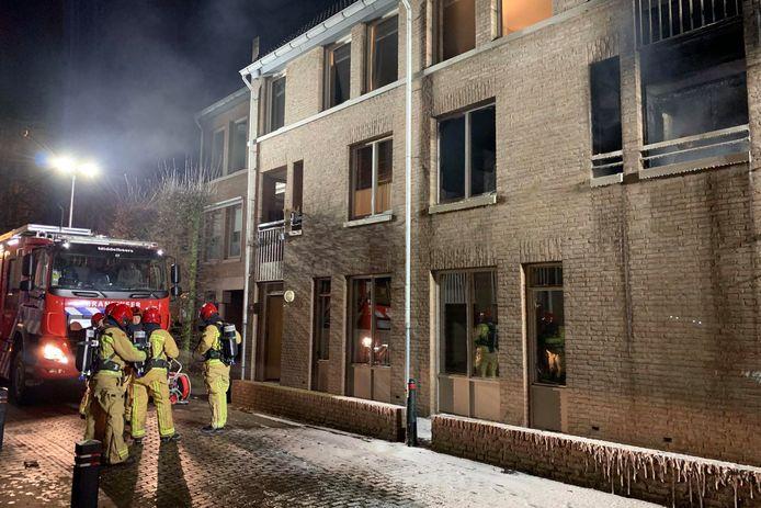 Het appartement in Oirschot heeft veel schade.