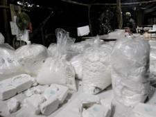Cocaïne ging in stalen rol de grens over