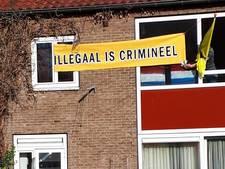 Actiegroep Identitair Verzet weer weg uit Rudolf Dieselstraat