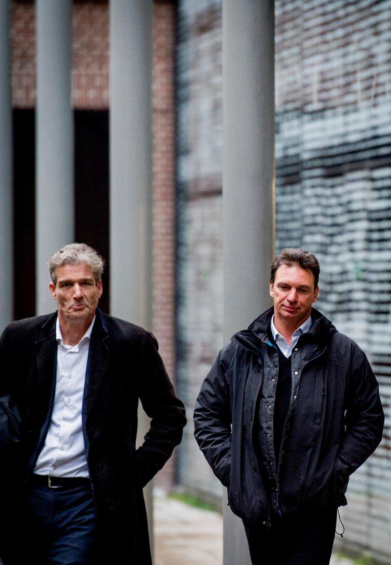 Stijn Franken stopte na negen jaar met de verdediging van Holleeder. Beeld anp