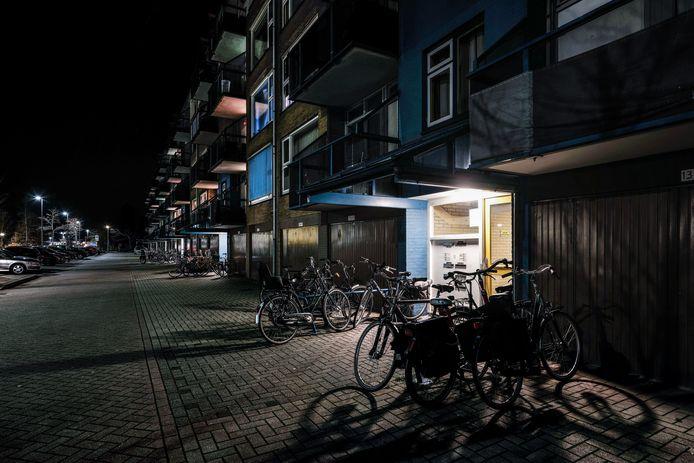De flats aan de Europalaan in Winterswijk.