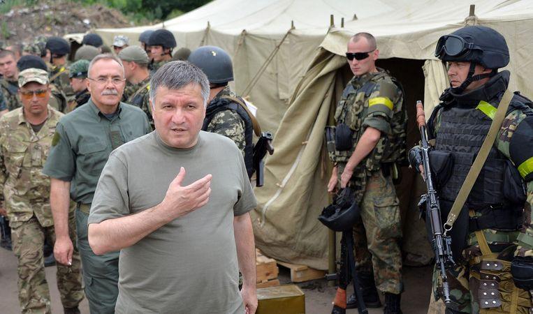 Arsen Avakov Beeld afp