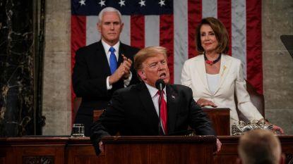 """Trump haalt zwaar uit naar Democratische leider Nancy Pelosi: """"Ze is smerig, vreselijk, een zenuwachtig wrak"""""""