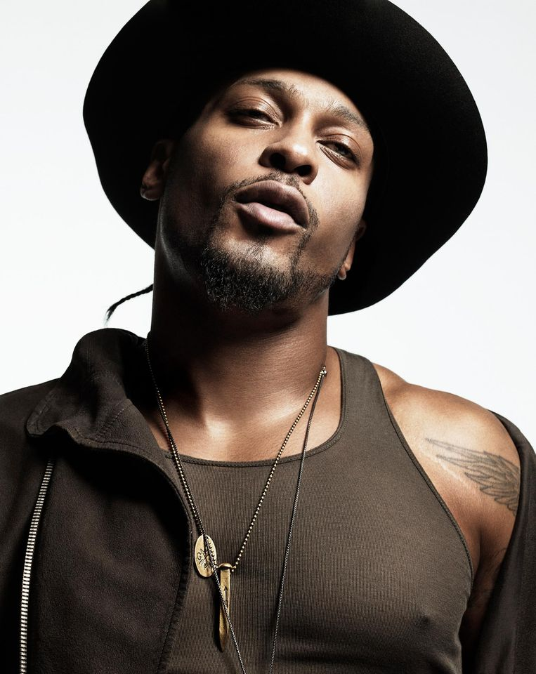 D'Angelo in 2014. Beeld RCA Records