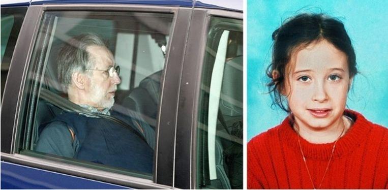 Links: Michel Fourniret. Rechts: Estelle Mouzin.