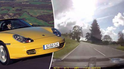 Vrouw spoelt dashcam terug en ziet hoe automonteur ging racen met haar binnengebrachte Porsche