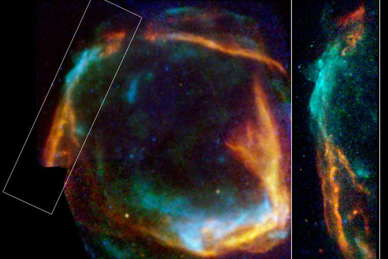 Röntgenopname van de supernova-rest RCW86 (ESA/NASA) Beeld