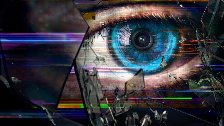 Beeld uit de tv-serie Black Mirror, sciencefiction die Tegmark wél kan waarderen. Beeld