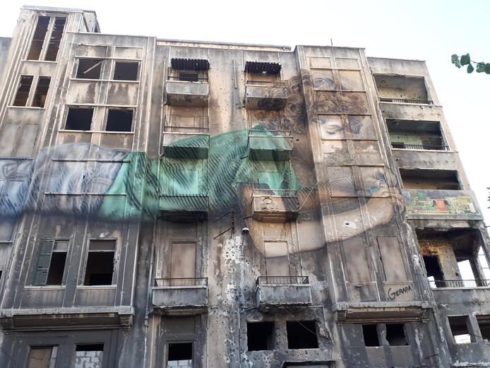 Streetart in Beiroet