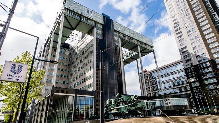 Exterieur van Unilever aan het Weena in Rotterdam. Beeld anp