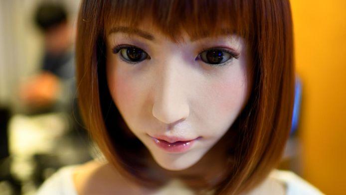 Erica, le robot créé par les laboratoires japonais Hiroshi Ishiguro