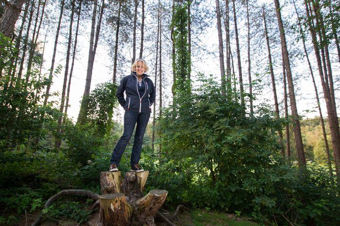 Initiatiefnemer Stella Heinen van restaurant annex theehuis Het Nieuwe Bos Wulven, hoopt volgend voorjaar te kunnen openen.