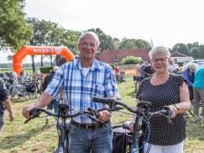 Geert en Leen doen al voor de tiende keer mee aan Fietsvierdaagse Achterhoek: 'De mensen hier zijn zo gastvrij'