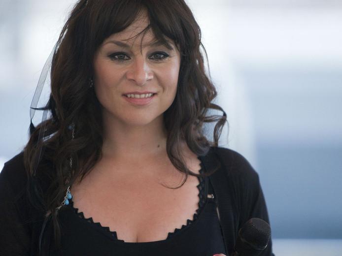 Trijntje Oosterhuis is het nieuwe jurylid van The Voice. © ANP