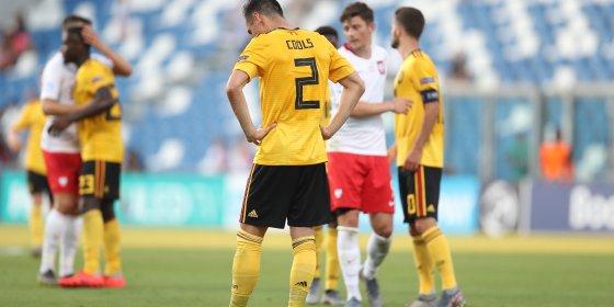 EK Voetbal U21: Belgische beloften gaan met 3-2 onderuit tegen Polen