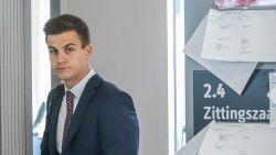 Dries Van Langenhove vanochtend voor rechter verschenen