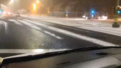 Het is zover: eerste sneeuw dwarrelt neer in Vlaanderen