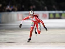Schaatsmarathon: Van der Geest wint met eenduizendste verschil