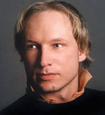 Anders Behring Breivik (32) de vermoedelijke dader van beide aanslagen.