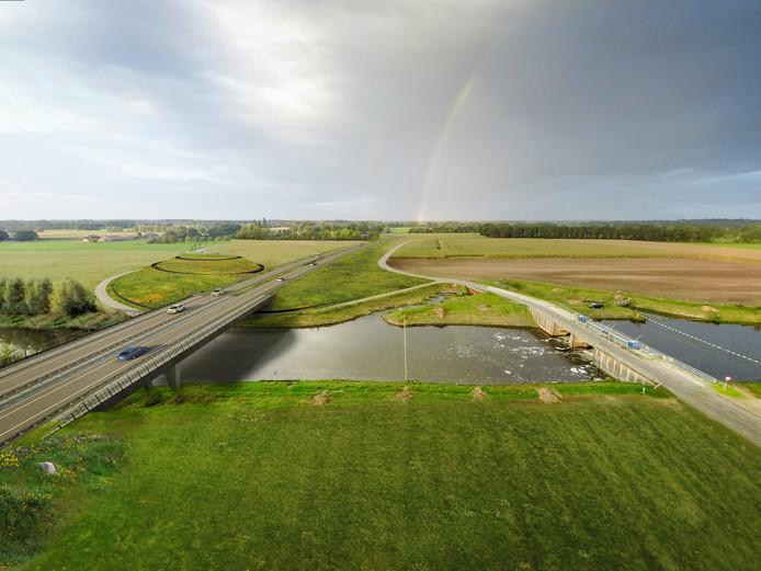 De grootste kans voor Berkelland is het grootste infrastructuurproject ooit in de regio: de N18, die nu aangelegd wordt en volgend jaar in gebruik wordt genomen.