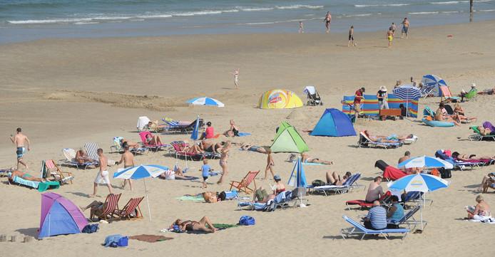 Het strand bij Domburg