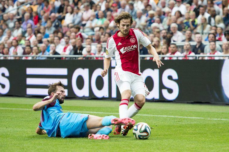 Daley Blind in zijn tijd bij Ajax Beeld anp