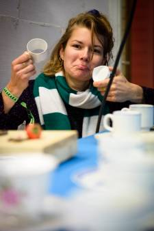 Fooddesigner Eylien Lommen: 'Voor ieder formaat neus had ik een ander kopje'