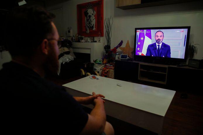 Le Premier ministre Edouard Philippe s'est exprimé à la télévision ce lundi soir.