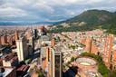 Bogotá van boven.