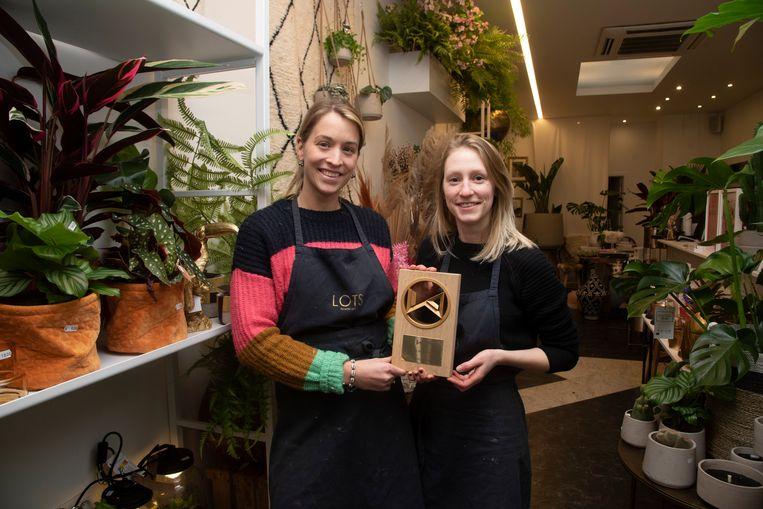 Lieselot Jonnaert en Anke Wouters wonnen de prestigieuze Floral Designer Award 2020.