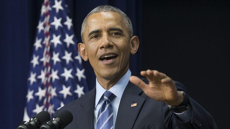 Obama. Beeld afp