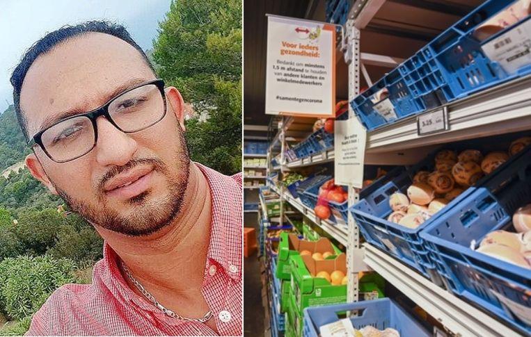 Mohamed Nahi (32) overleed begin april nadat hij zeven dagen eerder positief had getest op COVID-19. Volgens zijn familie volgde hij alle veiligheidsmaatregelen strikt op maar mocht hij van zijn baas geen mondmasker of handschoenen dragen tijdens zijn werk.