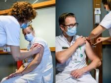Zorgmedewerkers MST gevaccineerd tegen corona: 'Het is veilig en nuttig'