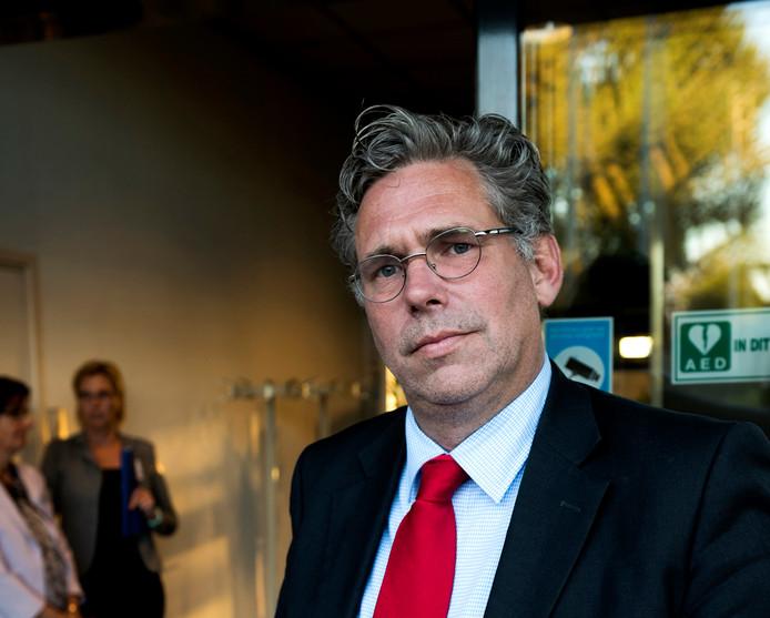 Lijsttrekker Cees Bos van Stadsbelang.