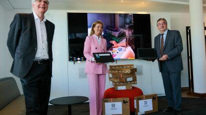 Econocom en ENGIE schenken 120 laptops aan Brusselse en Waalse scholen