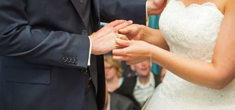 Bijzondere capriolen van een verwarde bruidegom
