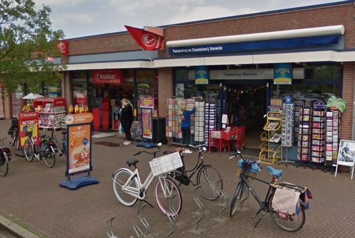 Tabakszaak Maris Mensink in Zwolle.